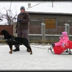 Enjoying Winter with Rebeca & Nitro